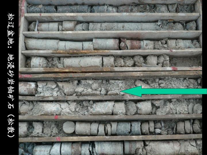 松辽盆地:地浸砂岩铀矿石(松散)