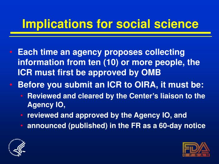 Implications for social science