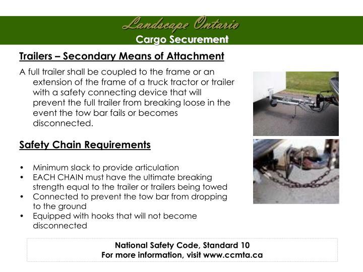 Cargo Securement