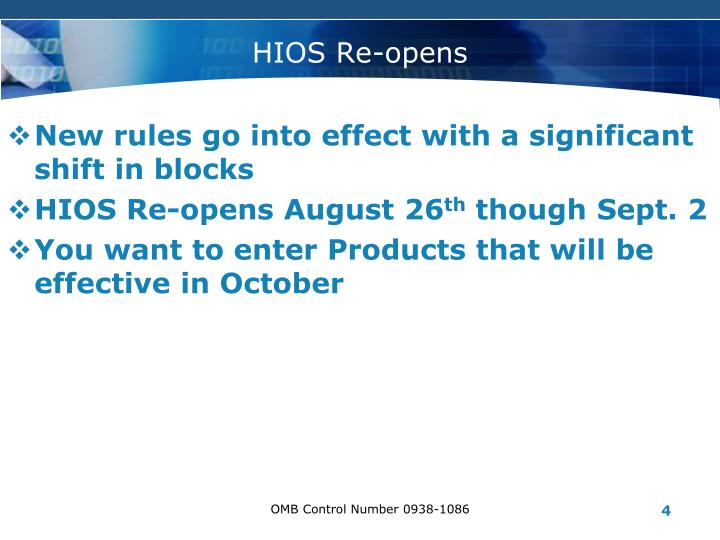 New rules go into effect with a significant shift in blocks