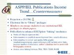 aspp iel publications income trend countermeasures