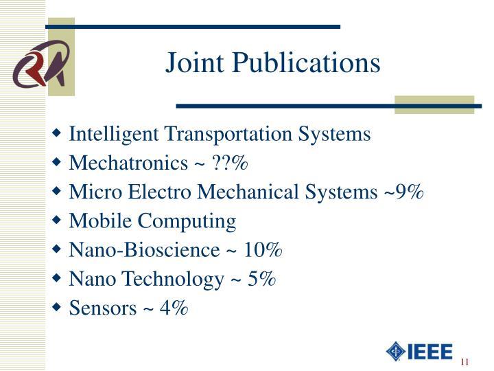 Joint Publications