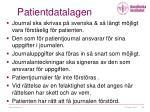 patientdatalagen