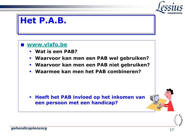 Het P.A.B.