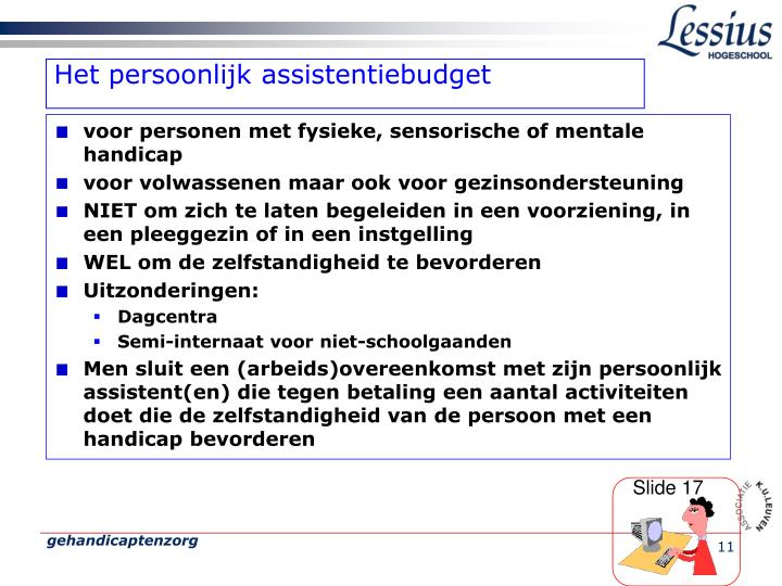 Het persoonlijk assistentiebudget