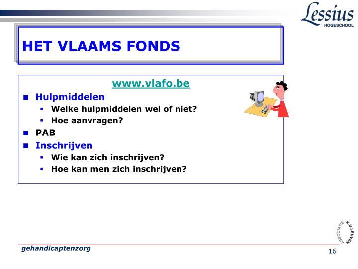 HET VLAAMS FONDS