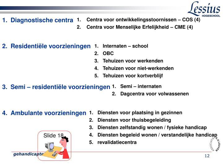 Diagnostische centra