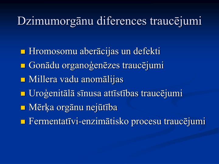 Hromosomu aberācijas un defekti