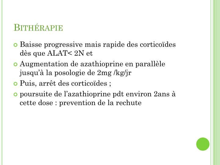 Bithérapie