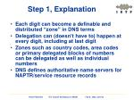step 1 explanation