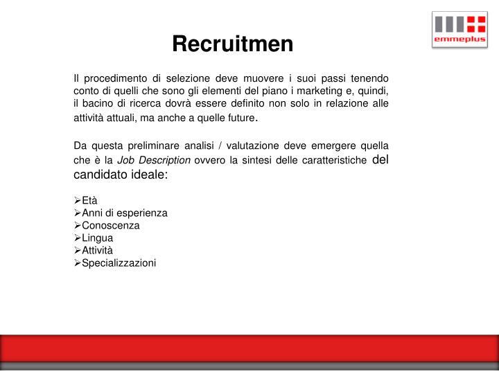 Recruitmen