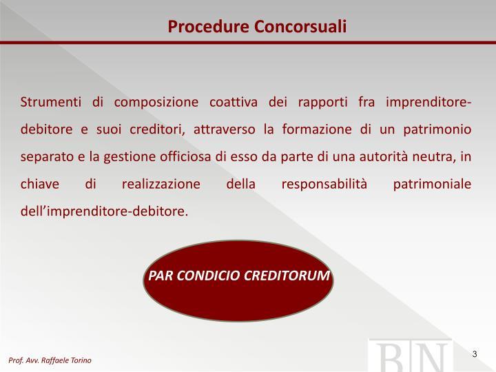 Procedure Concorsuali