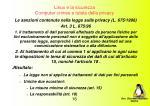 linux e la sicurezza computer crimes e tutela della privacy12