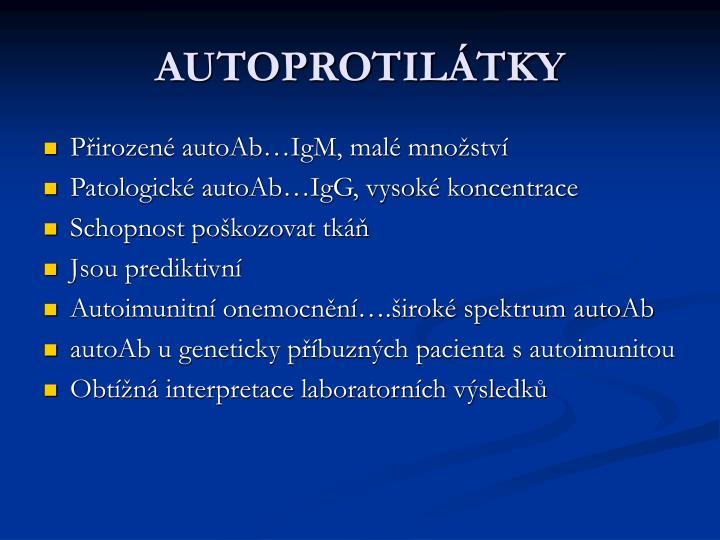 AUTOPROTILÁTKY
