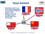 voice intranet
