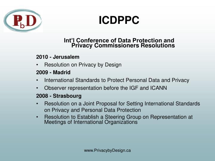 ICDPPC