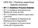 opd sg 1 pr cticas espec ficas specific practices