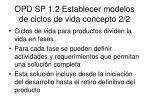 opd sp 1 2 establecer modelos de ciclos de vida concepto 2 2