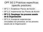 opf sg 2 pr cticas espec ficas specific practices2