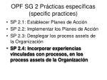 opf sg 2 pr cticas espec ficas specific practices3