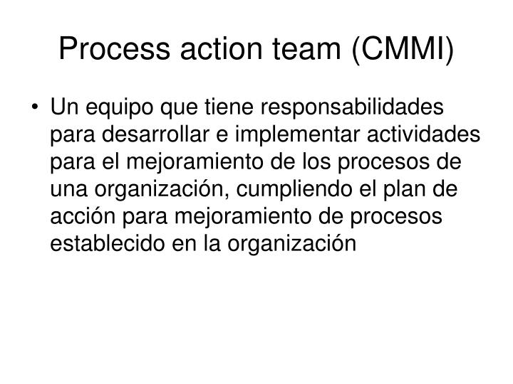 Process action team (CMMI)