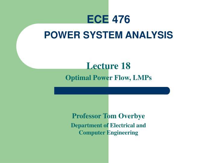 ECE 476