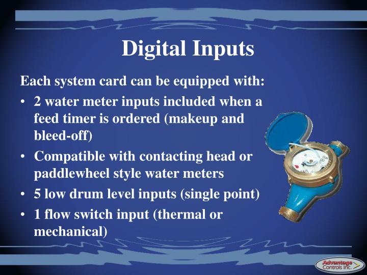 Digital Inputs