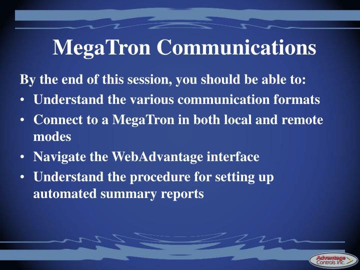 MegaTron Communications