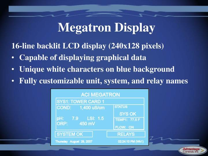 Megatron Display