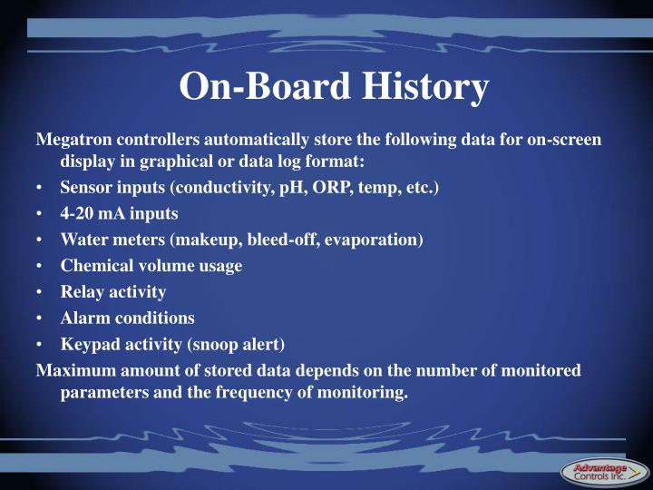 On-Board History