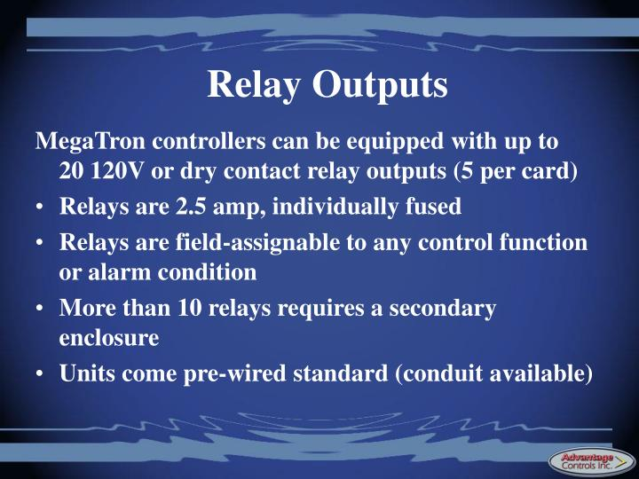 Relay Outputs