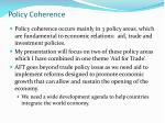 policy coherence