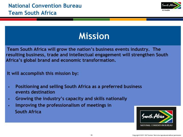 National Convention Bureau