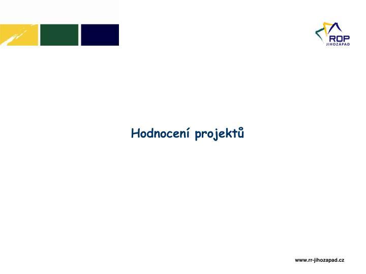 Hodnocení projektů