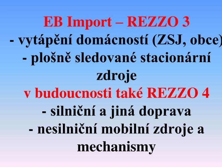 EB Import – REZZO 3