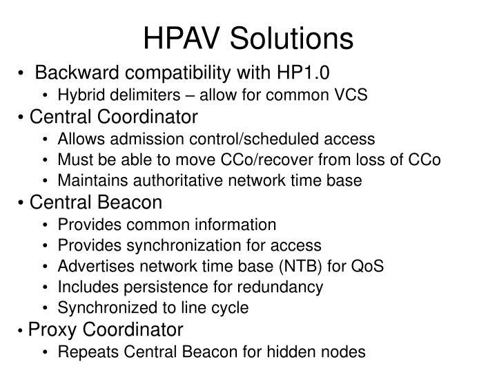 HPAV Solutions