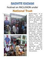 badhte kadam festival on inclusion under national trust