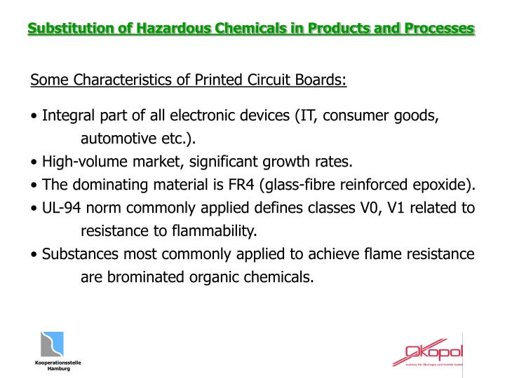 Some Characteristics of Printed Circuit Boards: