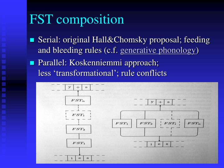 FST composition