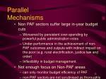 parallel mechanisms