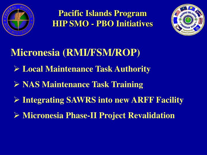 Pacific Islands Program