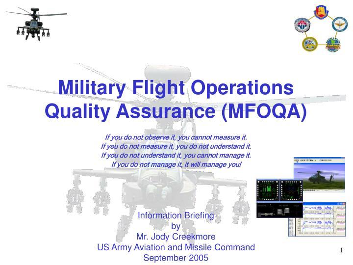 Military Flight Operations