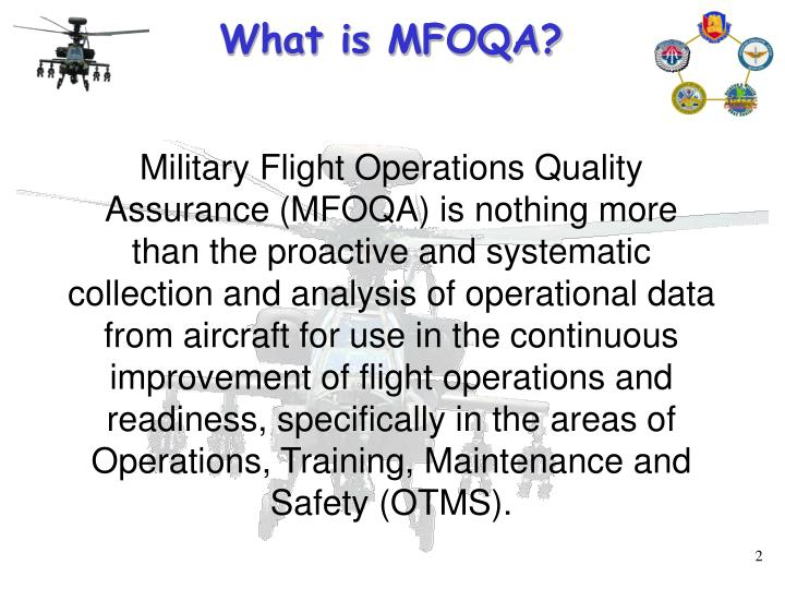 What is MFOQA?
