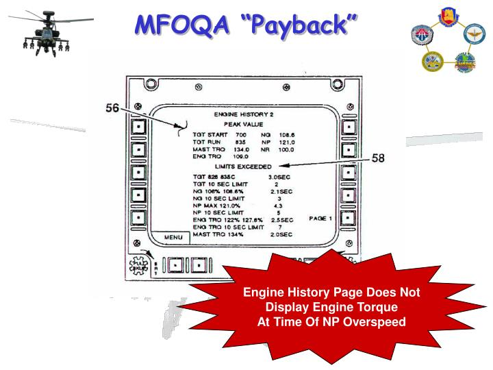 Engine History Page Does Not
