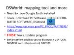 dsworld mapping tool and more