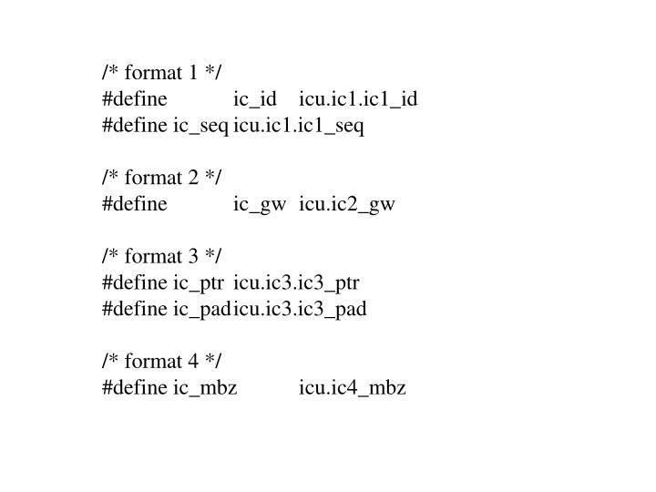 /* format 1 */