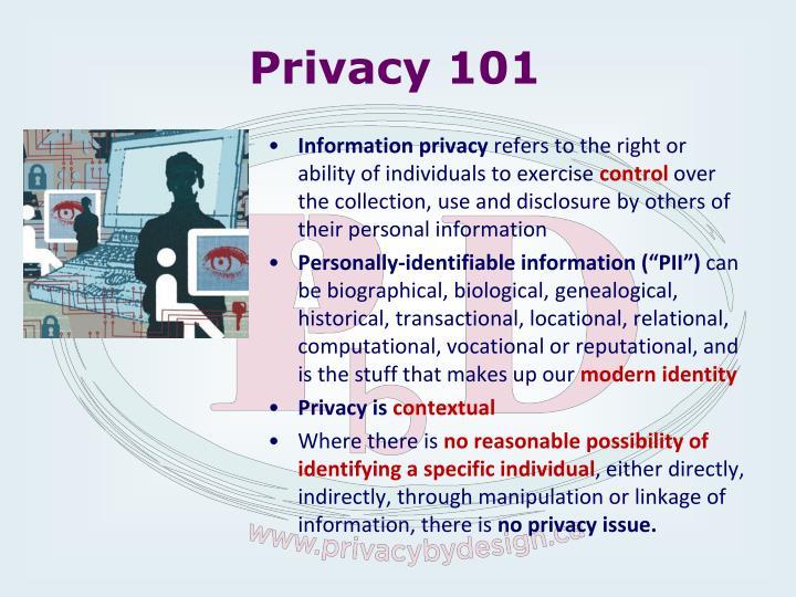 Privacy 101