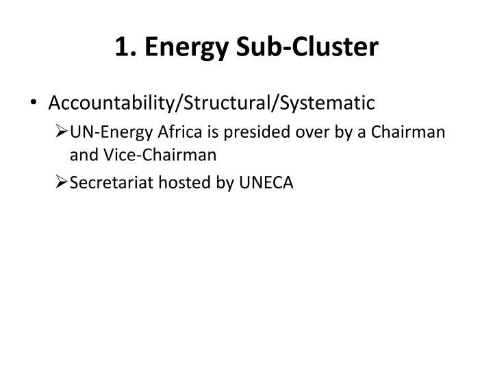 1. Energy Sub-Cluster