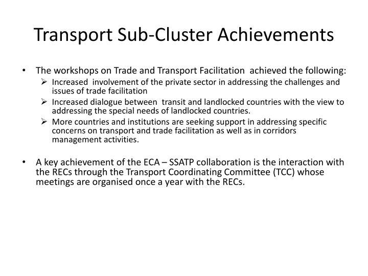 Transport Sub-Cluster