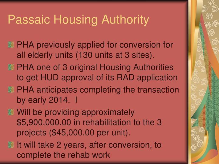 Passaic Housing Authority